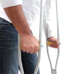 walking with crutches - return to work programs