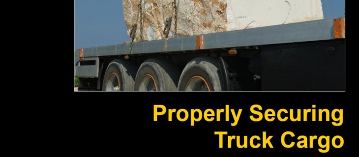 Properly Securing Truck Cargo