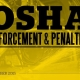 OSHA Enforcement and Penalties Newsletter – October 2015